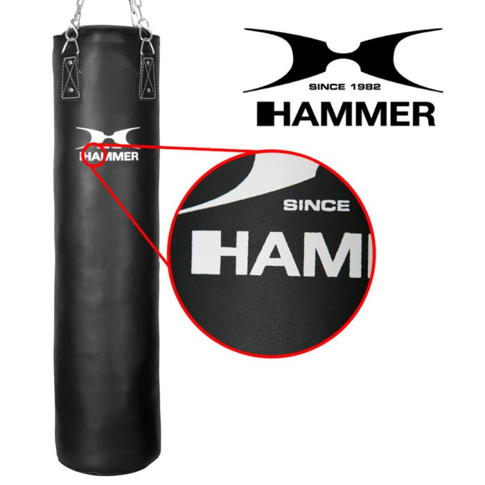 Boxsack Kunstleder Kick Premium von Hammer 2