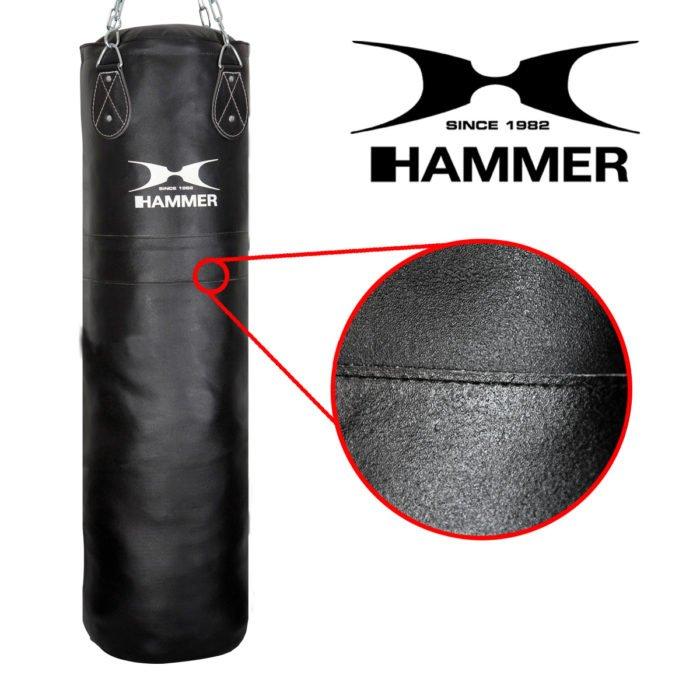 Boxsack Leder Premium von Hammer 1